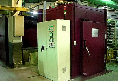活塞单腔固化炉
